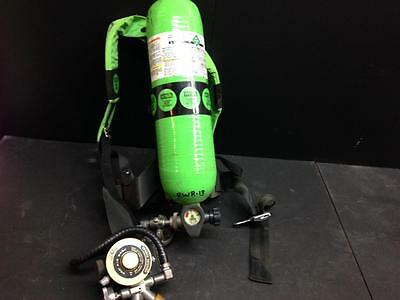 MSA Air Mask Custom 4500 SCBA  Tank Regulator and Harness