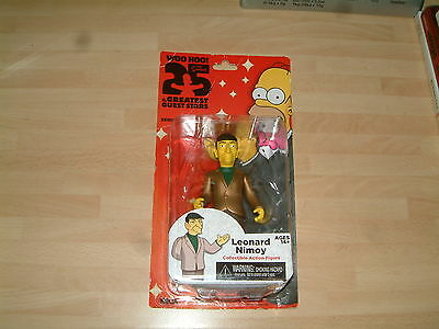 The Simpsons Leonard Nimoy Collectible Greatest Guest Stars Action Figure