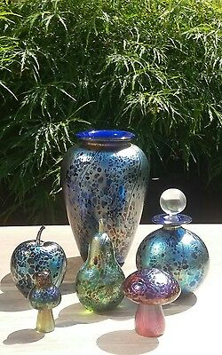 Isle of Wight Studio Glass A Beautiful Collection In Perfect Condition!