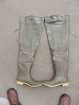 Pre-Owned Hodgman Hip Boots Waders - Mens Size 12