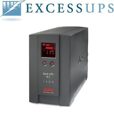 APC BACK-UPS 1500VA BR1500LCD with NEW BATTERIES - 1 YEAR WARRANTY INCLUDED!