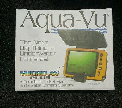 Aqua Vu AV Micro Plus + Underwater Pocket Camera Ice Cave Fish Finder Compact