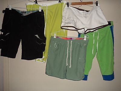 Ladies Shorts Bulk Mixed Sizes Incl Billabong Rusty Ripcurl Quick Clearout Sale