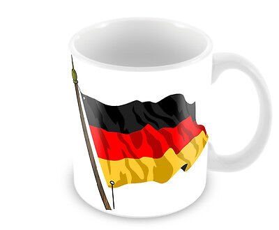 German Flag Coffee Mug Free Personalisation Germany