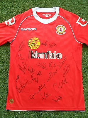 Crewe Alexandra Shirt Hand Signed by 2016/2017 Squad - 20 Autographs - Dagnall