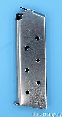 Colt 1911 Officer Defender New Agent Magazine 7-Round 45-ACP Stainless SP579991