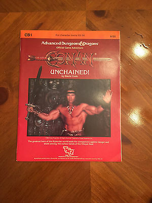 AD&D - CB1 Conan Unchained - Dungeons And Dragons - TSR - 9123