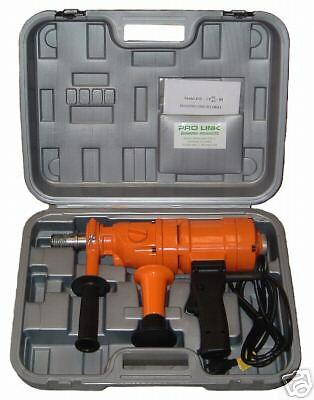 """4"""" New 2 Speed Hand Held Core Drill With Case"""
