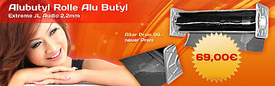 alubutyl 5m Roll Aluminum Butyl by Manufacturer Branded 0 1/16in Insulation