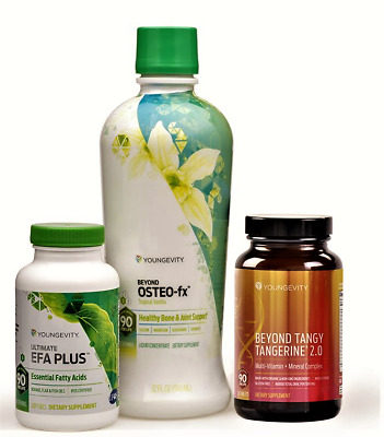 Sirius Healthy Body Start Pak BTT Tabs Osteo Fx Liquid EFA Plus by Youngevity