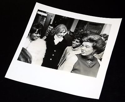 1960's THE SUPREMES Diana Ross Duke Duchess Bedford Party 6x6 Press Photo