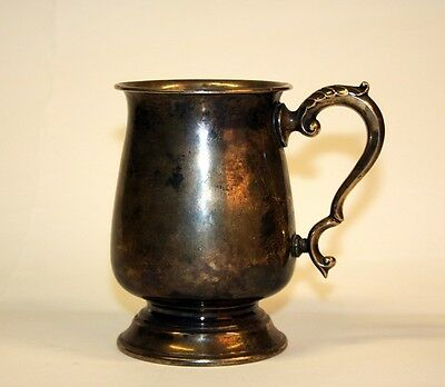 Actor Elizabeth Taylor Engraved Liz Cup Pewter Tankard From Husband Michael Todd