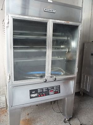 Hobart Hgfr-11 Commercial Natural Gas Chicken Rotisserie Oven
