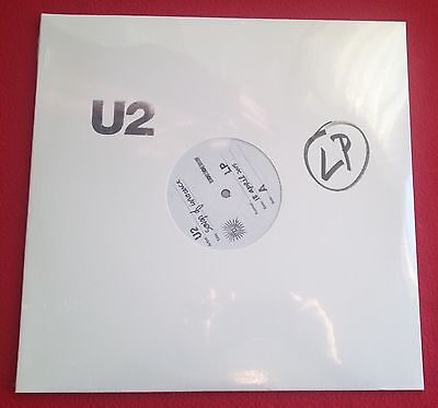 "U2 SONGS OF INNOCENCE RSD Promo Vinyl Number  2 x 12"" NEW/SEALED"