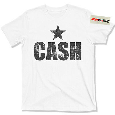 Johnny Cash Nashville star outlaw country music Tennessee whiskey blues T Shirt