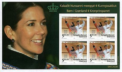 GREENLAND 2006 Children in Greenland: Souvenir Sheet UM/MNH