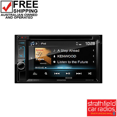 Kenwood DDX4017BT In Dash DVD Player