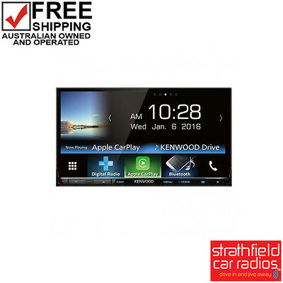 Kenwood DDX9017DABS In Dash Multimedia Player with Apple Carplay  & Android Auto