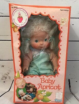 Vintage Strawberry Shortcake Baby Apricot - Blow Kiss Doll - NEW in Box RARE!!!!