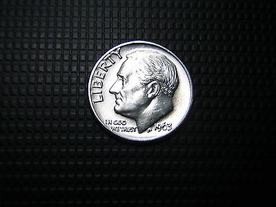 1~1963d   ROOSEVELT BU ++  DIME > uncirculated !  SWEET & SILVER !!!