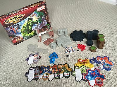 Marvel Heroscape The Battle Of All Time incomplete