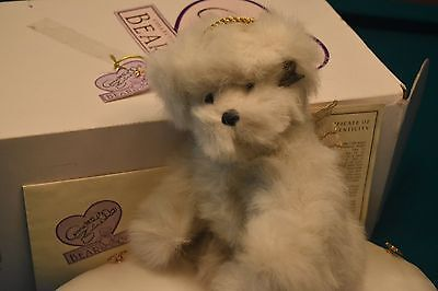 "A 10"" length Collectible Teddy Bear Vintage Annette Funicello Angel Collection"