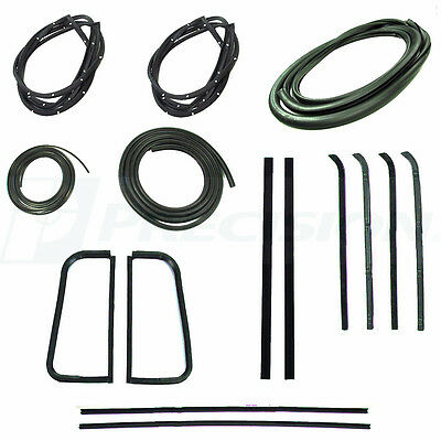1955 1956 1957-1959 Chevrolet GMC Pickup Truck Complete Weatherstrip Seal Kit