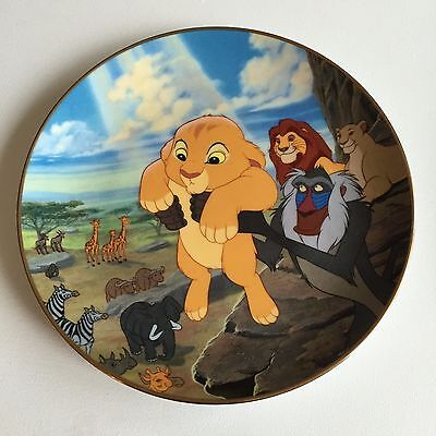 Disney The Lion King The Circle of Life The Bradford Exchange Collectible Plate