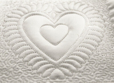 Machine Embroidery Designs  CD -  Hearts quilting blocks   in 4  sizes
