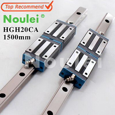 HGH20CA linear guide block  with HGR20 rails1500mm for z axis CNC parts