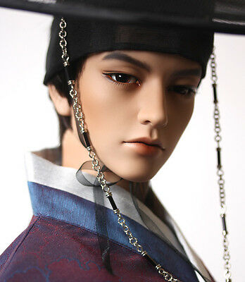 1/3  bjd doll ball jointed dolls tan color handsome empire doll + face make up