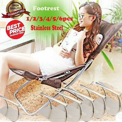 Stainless Footrest Barbers Beauty Hair Chair Salon Equipment Tattoo Hairdressing