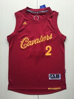 New Cleveland Cavaliers Kyrie Irving No.2 Red Basketball Christmas Jerseys