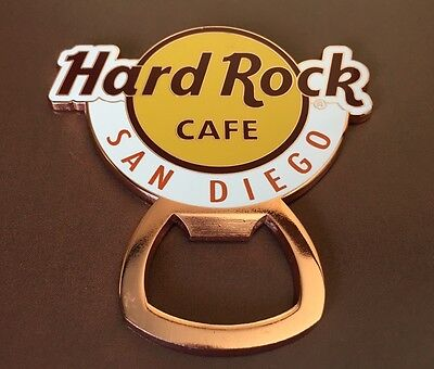 Hard Rock Cafe HRC San Diego Classic Logo Bottle Opener (Not A Magnet) NWT