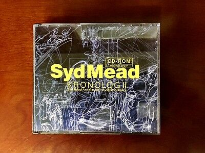 Syd Mead Kronolog II, An Interactive Digital Gallery CD-ROM w/t a booklet, EMS