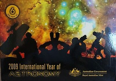 2009 International Year of Astronomy - Six coin proof set-(RAM)