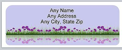 Personalized Address Labels Flowers Buy3 get1 free(ac 848)
