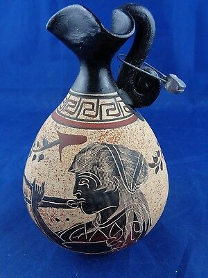 Handmade Copy Of Classical Period 430 BC Greece Pitcher Vase