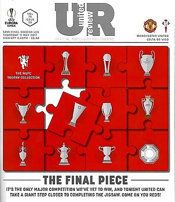 MANCHESTER UNITED v CELTA VIGO Europa League 2016/17 MINT