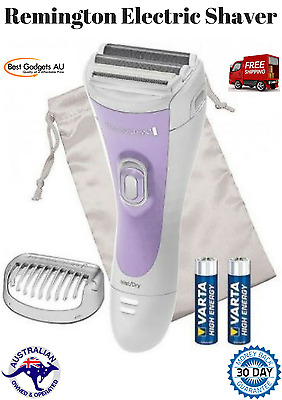 REMINGTON WET/DRY Smooth & Silky lady women's shaver/bikini trimmer CORDLESS