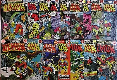 DEMON #1-16 Full Set! Jack Kirby Art & Story in All! Bronze-Age Series! DC 1972