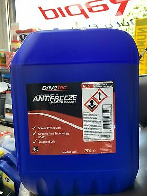 20 LTR Triple Qx New CONCENTRATED RED LONGLIFE 5yr ANTIFREEZE - 20 LITRE 20L