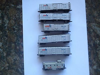 Model Trains N Scale 5 Thermice Dry Ice  B/car 1 Caboose