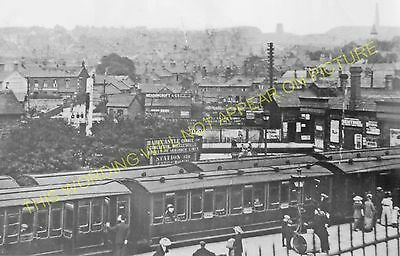 Harecastle Railway Station Photo. Chatterley to Lawton and Mow Cop Lines. (10)