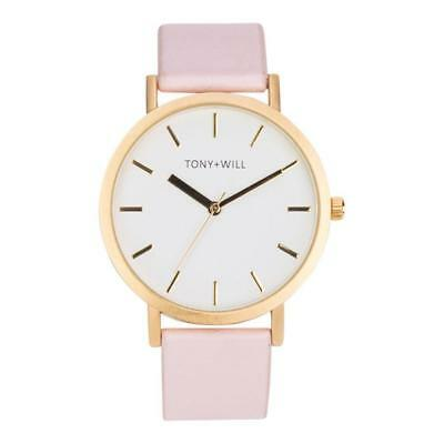 Tony + Will White, Gold and Pink Watch