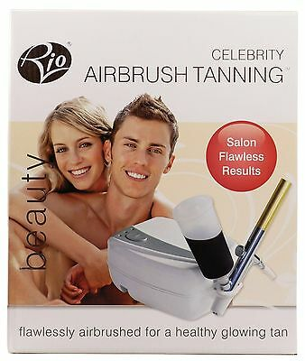 Rio Salon Celebrity Airbrush Skin Tanning Tan System Simple Fast 2 Year Warranty
