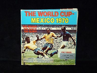 THE WORLD CUP - MEXICO 1970 ITALY-BRAZIL. COLUMBIA PICTURES SUPER 8 mm., BLANCO