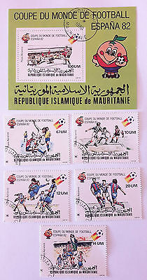 Mauritania Post Stamps Coupe Du Monde Espana 1982 Mint/LH