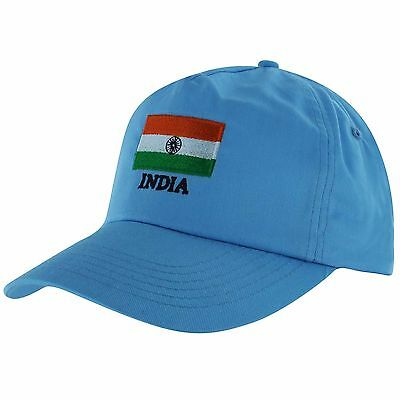 India Flag Sports Baseball Cap for Cricket Fans (Adults)
