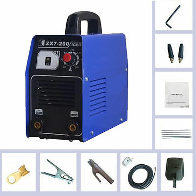 Mini Portable 220V 200AMP DC Inverter Welding Machine MMA / ARC IGBT Welder